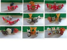 fisher price little people seal camel kangaroo zebra giraffe elephant lion rhino