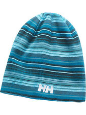 Helly Hansen Adult Beanie Graphic Beanie Turquoise Hat Unisex New Mens Womens