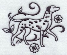 DOG TOWEL EMBROIDERED 2 SIZES 4 COLOURS 12 BREEDS BNWT DALMATIAN