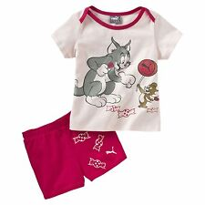 PUMA Tom und Jerry Baby Jogginganzug-Set Kinder Jogginganzug Unisex Neu