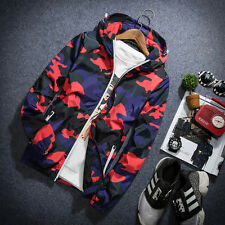 Camouflage coat men 's new hooded men' s jacket men 's autumn influx of men and