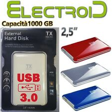 HARD DISK ESTERNO PORTATILE 1TB TX THINK XTRA DENTRO HDD WESTERN DIGITAL 2,5""
