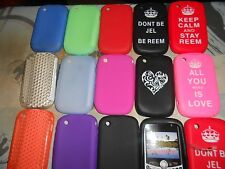 BLACKBERRY CURVE 8520 VARIOUS SILICONE SKIN CASE