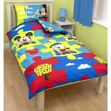 Disney Character Duvet Cover Set single Kids Girls Boys Polycotton Bedding Set