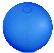 "INFLABLE AZUL 10"" PELOTA DE PLAYA PISCINA DIVERTIDO HOLIDAY JARDÍN"