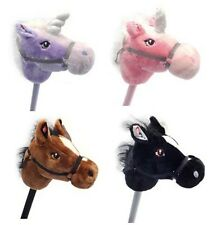 Children Horses in Four colour Hobby Horses with Real Horse Sound Kids Hobbies