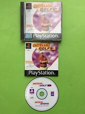 Actua Golf 3 Playstation 1 PS1 PAL Works On PS2 & PS3 + Free UK Delivery