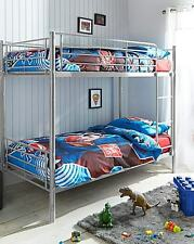 Stylish 3FT + 3FT Metal Frame Bunk Bed Lowest Price Online