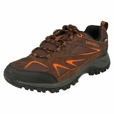 Mens Merrell Phoenix Bluff Gore-Tex Suede Lace Up Hiking/Walking Trainers