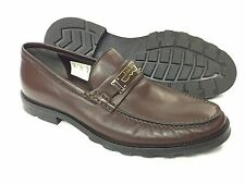 Bally Men's Shoes Candino Penny Logo Nappa Made In Switzerland $595 SAVE 80