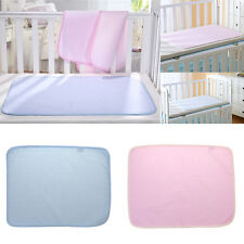 Baby Reusable Bamboo Diaper Nappy Changing Pads Waterproof Mats for Stroller Bed