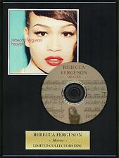REBECCA FERGUSON - Framed CD Presentation Disc Display - MULTI LISTING