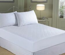Luxury Quilted Mattress Protector Fitted Sheet Bed Cover, Pillow Protectors