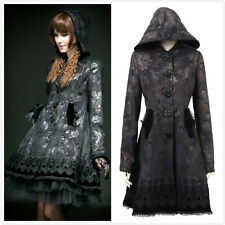 Punk-Rave LY-046 Black Dark Butterfly Gothic Lolita Sweet Fairy tale hoodie coat