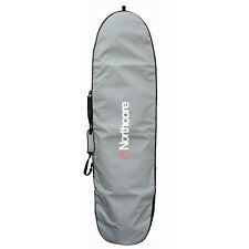 Northcore Addiction Longboard Unisex Luggage Surfboard Bag - Grey One Size