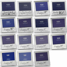 AGE HAPPY BIRTHDAY PHOTO FRAME -13TH 16TH 18TH 21ST 30TH 40TH 50TH 60TH AND MORE