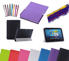 "Magnetic Ultra Slim Smart Stand Case For Samsung Galaxy Tab 3 10.1"" P5200 P5220"