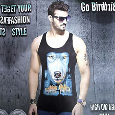 (Size-XXL-Chest-44 ) Mens Sando, Animal Print Designer Sando (SKU-JB93205)