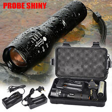 5000LM Shadowhawk X800 Tactical Flashlight LED Zoom Military Torch G700 Lamp Set