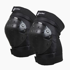 2017 Black Motorcycle Knee Elbow Safety Skate Pads Protector Gear Sports Skiing