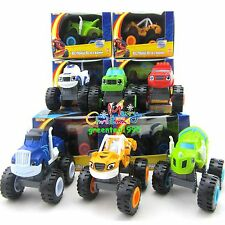 6 Pcs Blaze and the Monster Machines Vehicles Diecast Toys Racer Cars Trucks Kid