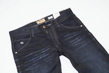 NEU - Energie - Regular Fit Jeans - Straight Cut - Night Denim  Herren - Schwarz