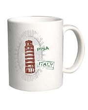 Tazza 11oz T0623 pisa italia fun cool geek