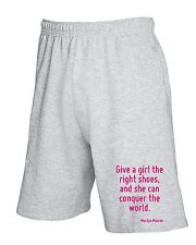 Pantalone Tuta Corto CIT0087 Give a girl the right shoes, and she can conquer th