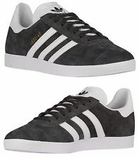 ADIDAS ORIGINALS GAZELLE MEN's SPORT PACK CASUAL SOLID GREY - GOLD - WHITE
