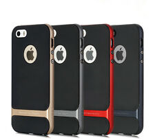 ROCK Royce Dual Layer Electroplating PC+TPU Case Cover For iPhone 5S 6 6S Plus