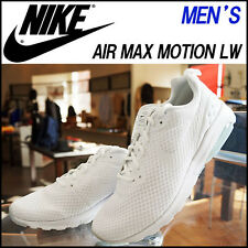 MEN'S NIKE AIR MAX MOTION LW / WHITE - WHITE - BLACK