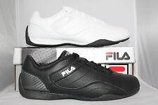 Mens Fila EXALADE Casual Driving Shoes Sneakers White Navy Black NIB Low Pr