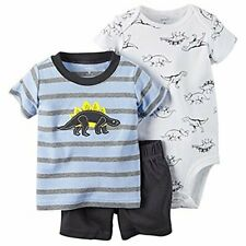 Carter's Baby Boys' Dinosaurs Tee, Bodysuit and Diaper Cover Set MSRP $38.00