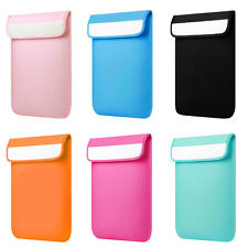 Notebook Liner Sleeve Case Bag Pure Color for Macbook Laptop 11 12 13 15 inch