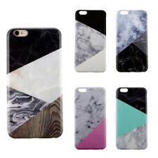 Glossy Marble Pattern Gel CellPhone Case Protective Cover for iPhone 6s/6s Plus