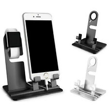 Desk Table CellPhone Charger Dock Station Holder for iPhone 5 6 Plus iWatch