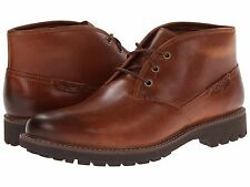 Men's Shoes Clarks Montacute Duke Leather Chukka Boots 03252 Dark Tan *New*