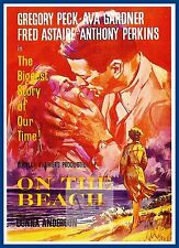 On The Beach   1950's Movie Posters Classic Vintage Cinema