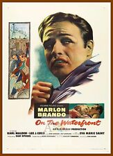 On The Waterfront     1950's Movie Posters Classic Vintage Cinema