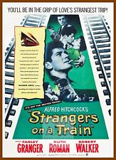 Strangers On A Train   1950's Movie Posters Classic And Vintage Cinema