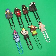 Harry Potter - Cartoon Style Paperclip Bookmark Hagrid Draco - J K Rowling - NEW