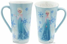 2013 Disney Store Exclusive FROZEN Movie ELSA Tall Ceramic Latte Coffee Mug Cup