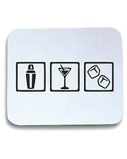 Tappetino Mouse Pad BEER0168 Bartender cocktail party