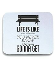 Tappetino Mouse Pad CIT0083 Forrest Gump Life Life is like a box of chocolates