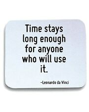 Tappetino Mouse Pad CIT0237 Time stays long enough for anyone who will use it.