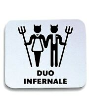Tappetino Mouse Pad MAT0023 Duo Infernale Maglietta