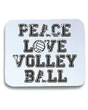 Tappetino Mouse Pad OLDENG00208 peace love volleyball