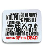Tappetino Mouse Pad OLDENG00235 shauns plan of action