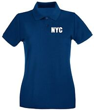 Polo Donna OLDENG00349 nyc new york city white