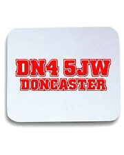 Tappetino Mouse Pad WC1032 doncaster-postcode-tshirt design